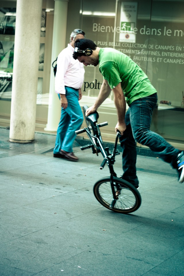 #TheHeadphonesProject Bicycle Race