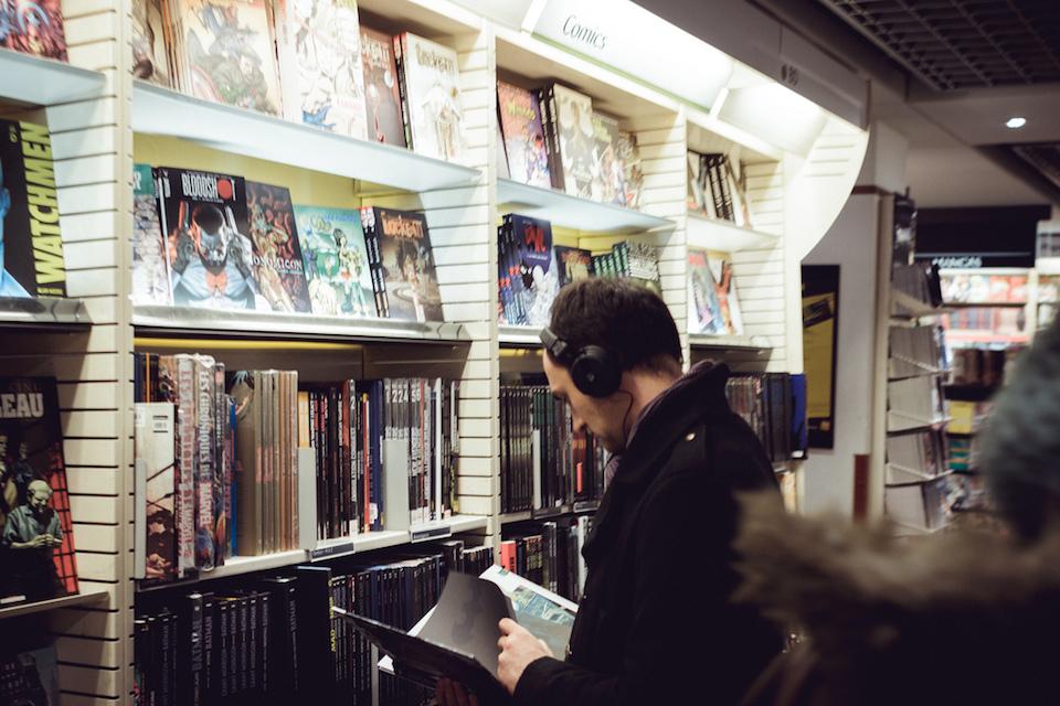 The Headphones Project : Comic Strip