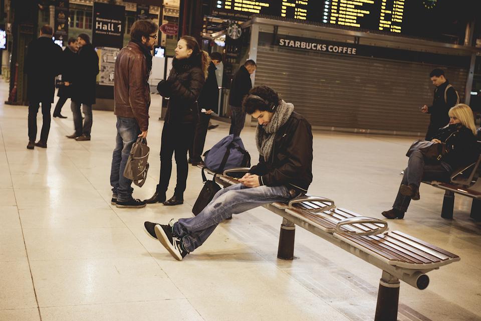 The Headphones Project : Gare De Lyon